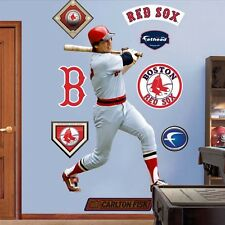 "Carlton Fisk FATHEAD Red Sox LIFESIZE 4'1""x 5'11"" REAL BIG +RETRO Extras RETIRED"