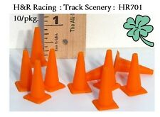 H&R Racing HR701 Model Traffic Construction Safety Cones for Track Scenery