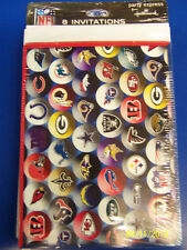 RARE NFL Football Sports Banquet Super Bowl Kids Birthday Party Invitations *