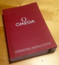 OMEGA Operating Instructions Manual Seamaster Proplof Constellation 1/10 OEM