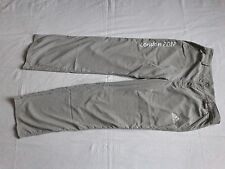 """GAMESMAKER LONDON 2012 OLYMPIC ADIDAS SIZE LARGE TROUSERS PANTS 36"""" WAIST"""