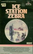 Ice Station Zebra (VHS 1985) RARE Big Box