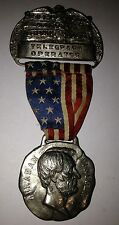 1920 Republican National Convention Telegraph Operator A. Lincoln Medal