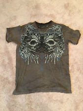 Mens Affliction Tee Shirt X-Large Premium Fight Gear Tap Out Clothing Apparel