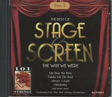 Music CD The Best of Stage and Screen The Way We Were Disc 3
