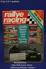 Rallye Racing 11/92 Ford Escort Cosworth Mazda 323 GT-R
