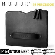"Mujjo Premium Leather Carry-On Sleeve For 12"" MacBook 