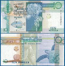 SEYCHELLEN / SEYCHELLES 10 Rupees (1998)  UNC   P.36 a