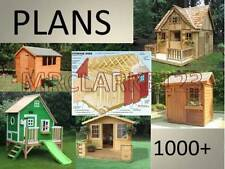 WORKING PLANS FOR PLAY, WENDY, SUMMER HOUSES AND SHEDS 1000+ on 1 CD!+.