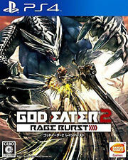 PS4 God Eater 2 Rage Burst Day One Edition Playstation 4 Video Game