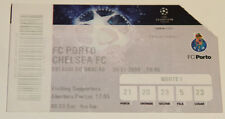 Ticket for collectors CL FC Porto - Chelsea FC 2009 Portugal England