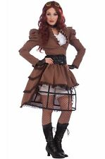 Industrial Steampunk Vicky Adult Costume Victorian Sci fi Halloween Fancy dress