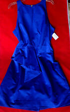 $250 NWT AUTHENTIC MILLY  OF NEW YORK BLUE COCTAIL  DRESS MADE IN USA