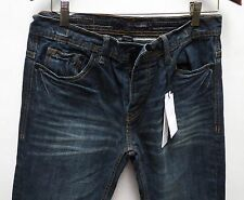 Calvin Klein Rocker Men Jeans 30 W x 32 Aged Slim Fit Straight Leg New with Tags