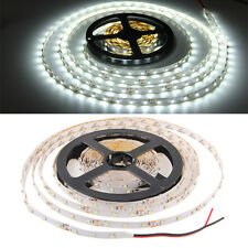 5M 300LED 3528 SMD Strip Bande Ruban Flexible Lampe Blanc Lumiere Deco Soirée