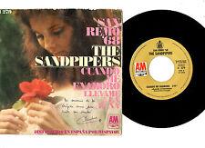 """SANDPIPERS.SAN REMO '68 (CUANDO ME ENAMORO).RARE ORIG SPANISH 7""""+ PIC/SL.EX-"""