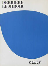 ELLSWORTH KELLY - TWO (2) LITHOGRAPHS DERRIERE LE MIROIR  - FREE SHIP IN US !