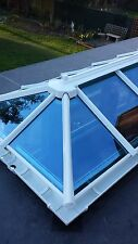 Roof lantern skylight - upvc glazed - Conservatory/flat roof assembly 1500 x1005