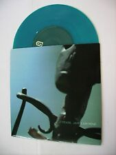 "PEARL JAM - I AM MINE - 7"" TOURQUOISE VINYL 2002 EXCELLENT CONDITION"