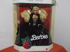 "VINTAGE ""BARBIE..HAPPY HOLIDAYS""....1991....NEW IN BOX...PACKAGING IS DAMAGED"