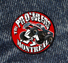 2 x the Prowlers Skinhead Montreal Button Streetpunk Oi the Monstertuck