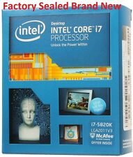 ~NEW~SEALED~ Intel i7-5820K 6 Core 3.6GHz LGA 2011 -v3 Processor i7 15MB Cache