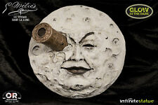 Trip To The Moon Le Voyage Dans La Lune Georges Melies Glow In Dark Wall Statue