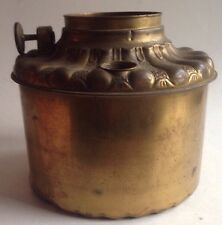 OLD kerosean FONT / OIL TANK great ELECTRIC conversion part ANTIQUE lighting