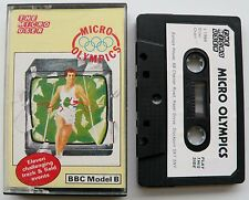 Micro Olympics By The Micro User For BBC Model B  - Tape