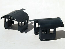 RCR - MDC HO PARTS - #27250 - PENNSY style CAB SHELLS - 2  pieces