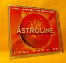 MAXI Single CD Astroline Feel The Fire 5TR 1998 Trance, House