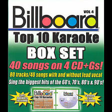 BILLBOARD KARAOKE-BILLBOARD BOX SET V4 CD NEW