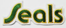 LOT OF (1) HOCKEY CALIFORNIA GOLDEN SEAL EMBROIDERED  ITEM # 98