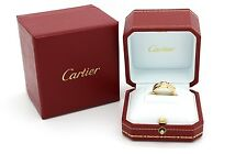 Cartier Tank Francaise Ring in 18k yellow gold & Diamonds. Size 5 US.