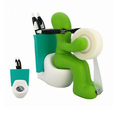 Kito Design Butt Station Green Tape Pen Holder Office Desk Organizer Funny Gift