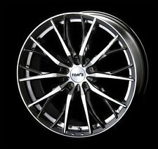 TOM'S TH01 wheels rims 7.0J-18 +50 5x100 set of 4 for PRIUS from JAPAN