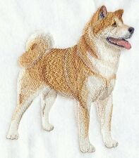 Large Embroidered Zippered Tote - Akita C5075