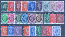George VI - The THREE sets 1937, 1941 & 1950 - All Unmounted Mint, as issued!