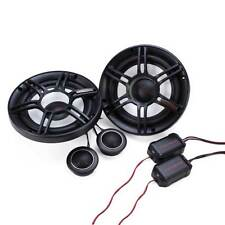 "Crunch 300W Full Range 2 Way 4 Ohm Component Car Audio 6.5"" Speaker Pair 