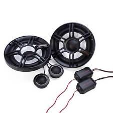 """Crunch 300W Full Range 2 Way 4 Ohm Component Car Audio 6.5"""" Speaker Pair   CS65C"""