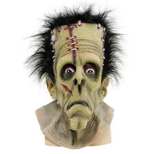 FRANKENSTEIN FULL HEAD LATEX MASK ADULT FANCY DRESS COSTUME ACCESSORY