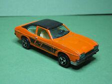 Majorette N°251 Ford Capri schwarzes Dach Made in France 1:60 rare Modellauto