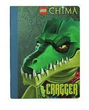 Lego Chima composición Libro « Cragger' Notebook Papelería Nuevo Regalo