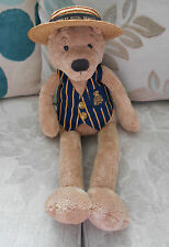 HENLEY ROYAL REGATTA large slackajack teddy bear JELLYCAT Jelly Cat J615 BOATER