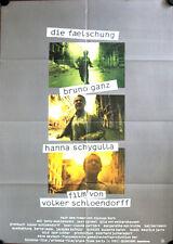 Die Fälschung Filmposter A1 Bruno Ganz Hanna Schygulla Carmet Volker Schlöndorff