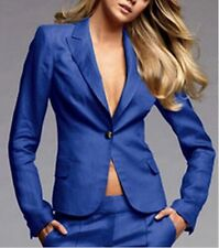 Royal Blue Women Ladies Custom Made Business Office Tuxedos Work Wear New Suits