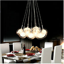 New 10Lights Modern Design Eggs Bubble Glass Ceiling Lighting light Pendant Lamp