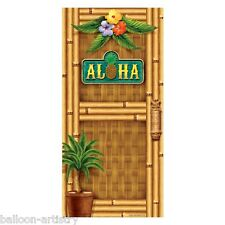 5ft Tropical Luau ALOHA Door Cover Banner Decoration