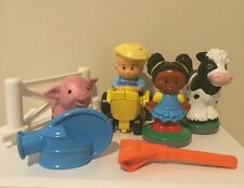 Fisher Price Little People Apptivity Barnyard Farm Replacement Figures