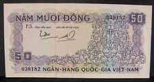 1966 South Vietnam 50 Dong Bank Note Lightly Circulated   ** FREE US SHIPPING **